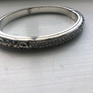 Gorgeous BRIGHTON HINGED BANGLE WITH WEAR.